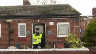 The pair were found at a senior citizens complex in Dublin