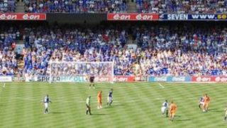 Ipswich Town's Portman Road stadium