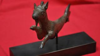 Capricorn figurine acquired by Museum of Somerset