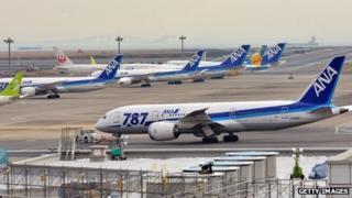 Boeing 787 Dreamliners