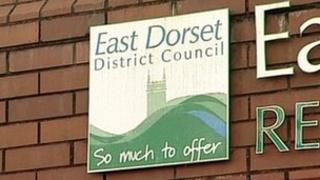 East Dorset council sign