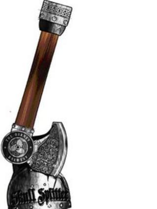 Skull splitter tap handle