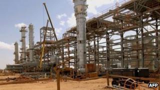 The gas complex near In Amenas
