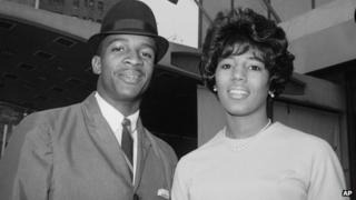 File photo of James Hood and Vivian Malone in 1963