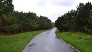 Rue de Longis in Alderney