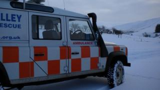 Tweed Valley MRT vehicle