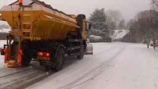 Gritters in Worcester
