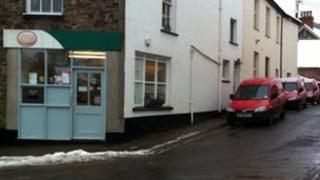 Dulverton post office