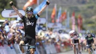 Geraint Thomas wins stage two at Tour Down Under