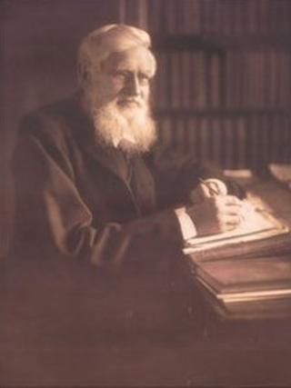 Alfred Russel Wallace (Copyright: Dr George Beccaloni)