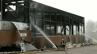 Cutts recycling plant damaged by fire in 2005