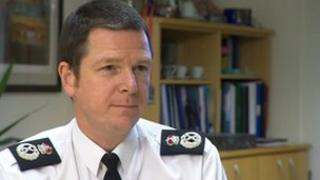 Hampshire Constabulary's outgoing chief constable Alex Marshall