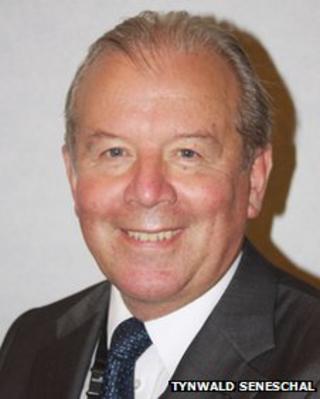 IOM Social Care Minister Chris Robertshaw