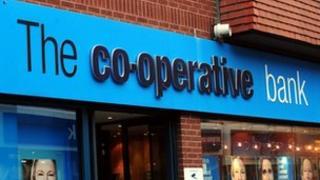 Co-operative bank branch