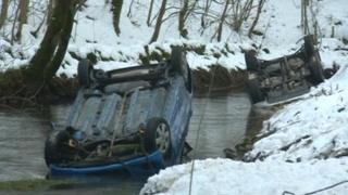 River Wye crash