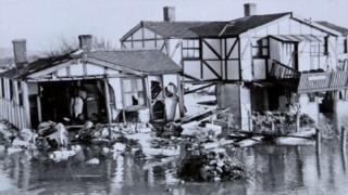1953 floods in Hunstanton