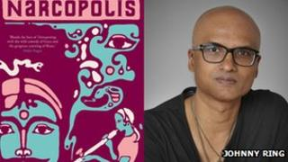 Narcopolis book cover and Jeet Thayil