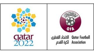 Official logo of the for the Qatar 2022 bidding campaign to host the 2022 Football World Cup
