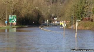 A34 at Meaford