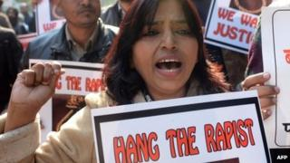 Anti-rape protest in Delhi