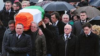 Dolours Price funeral