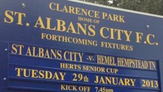 St Albans City FC fixtures