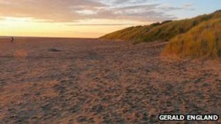 Sand dunes near St Annes