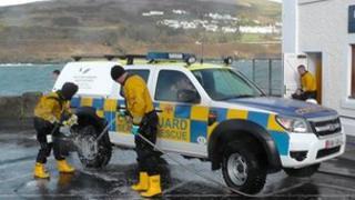 Port Erin lifeboat crew
