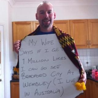 David Bowers' Facebook appeal photograph