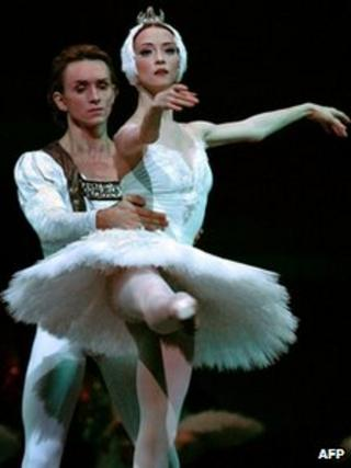 Svetlana Lunkina and Dmitri Gudanov