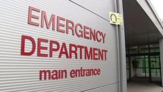 RVH emergency department entrance