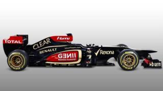 The 2013 Lotus E21