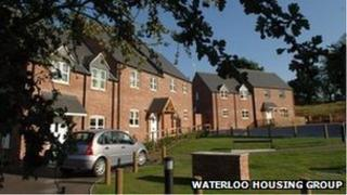 Houses in Long Whatton, Leicestershire