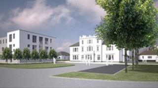 An artist's impression of Holyport College