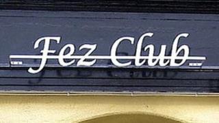 Fez Club sign