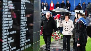 Princess Victoria memorial service
