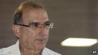 Colombia's chief negotiator, Humberto de la Calle