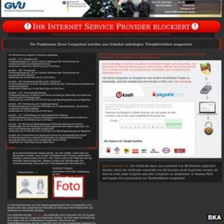 Ransomware page