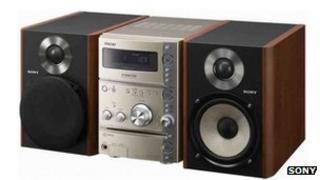 Sony MiniDisc hi-fi system