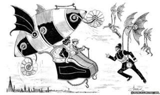 A Punch cartoon