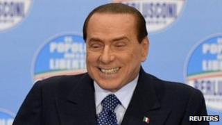 Silvio Berlusconi, file pic from February 2013