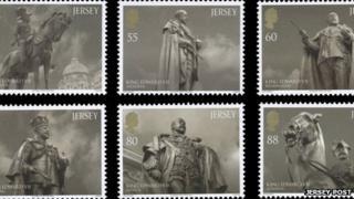 King Edward VII stamps