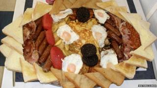 Kidz Breakfast at Jester's Diner, Great Yarmouth