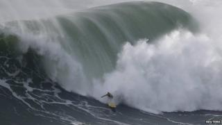Big wave surfer Garrett McNamara