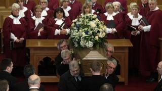 Hundreds attended a service in Cregagh Presbyterian Church
