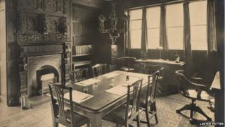 The boardroom, as seen here in the 1920s, is still used as a boardroom today.