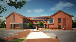Artist's impression of new health centre