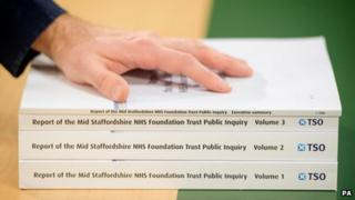 Report on the Mid-Staffordshire NHS Foundation Trust,