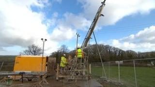 Drilling in Treliver