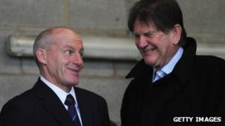 Steve Coppell and Sir John Madejski